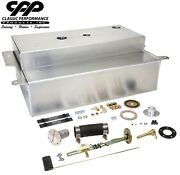 1955-59 Chevy Gmc Truck Aluminum Bed Fill Gas Tank Efi Carb + Filler Kit 90 Ohm