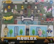 Roblox Adopt Me Pet Store 40 Piece Set Celebrity Collection Virtual Code Sealed