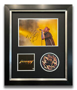 Post Malone Hand Signed Framed Cd Display - Stoney - Music Autograph 1.