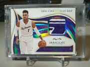 2019-20 Immaculate D'angelo Russell 2016 Christmas Day Game Platinum True 1/1