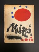 Limited Edition No. 361miro Recent Paintings Book With 7 Original Lithographs