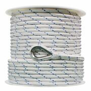 Extreme Max Db Nylon Anchor Line 1/2 800and039 White/blue Tracer 3006.2529