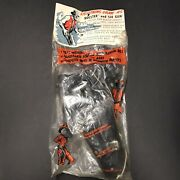 Toy Plastic Gun W/ Holster And Soft Bullets 1960andrsquos Vintage Sealed