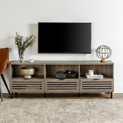 Modern 70-inch Storage Tv Stand Console Most Flat Panel Tvs Up To 80 Inches