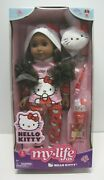 My Life As Hello Kitty 18 Posable Doll African American 9 Piece Set New