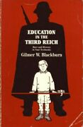 Education In The Third Reich Race And History In Nazi Textbooks By Blackburn