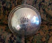 One 1946 Ford Dog Dish Wheel Cover Hubcap 9 5/8 Used Oem Fomoco