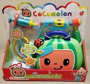 Cocomelon Musical Doctor Checkup Case Set 🩺💉🎵 In Hand 📦 Ships Immediately ⚡