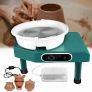 350w Lcd Electric Pottery Wheels Forming Machine For Ceramic Work Clay Art Craft