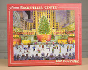 Rockefeller Center 1000 Piece Jigsaw Puzzle By Vermont Christmas New And Sealed