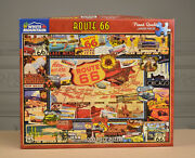 Puzzles White Mountain- Route 66 - 1000 Piece Jigsaw Puzzle- Used