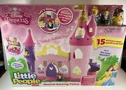 Fisher Price Disney Princess Musical Dancing Palace By Little People Songs Cgt78