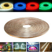 65 7/12ft Smd3014 Waterproof Led Rope Lamp Party Home Christmas Indoor/outdoor