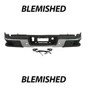 Blemished Chrome Rear Bumper Assembly For 2019 2020 2021 Chevy Colorado W/ Park