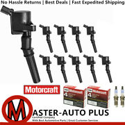 High Performance Ignition Coil And Motorcraft Platinum Engine Spark Plug For Ford