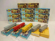 16 Athearn Assorted Grain Hoppers With Original Boxs