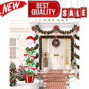 Christmas Yard Signs Stakes Decorations Xmas Plastic Yard Decor Outdoor Candy Ga