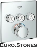 Grohe Grohtherm Smartcontrol Thermostat With 3 Shut-off Valves 29126000 New