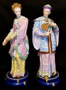 Bisque Figurines Henri Ardant And Cie France 19 Century.