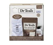 Dr Teal's Cinnamon And Cashmere Limited Edition 4-pc Gift Set