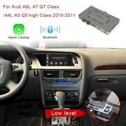 For Audi A4 A5 A6 A7 Q5 Q7 C6 2010 2011 Android Auto Wireless Apple Carplay Gps