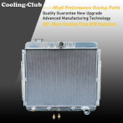 Fit 53-56 Ford F-series Truck With Chevy V8 Engine 3 Row Aluminum Kks Radiator