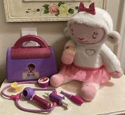 Doc Mcstuffins Doctor Take Care Of Me Lambie Interactive Toy Plush Mint