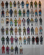 Gi Joe Arah 1980-2000and039s Collection. 55 Figures 4 Vehicles Tons Of Accessories.