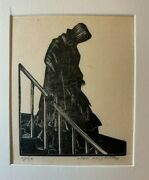 Clare Leighton Signed Edition Of 30 Wood Engraving Return Of The Native 1929