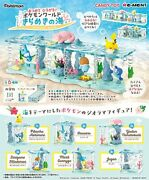 Re-ment Pokemon World Glittering Sea Complete Full Set 6 Candy Toy Miniatures