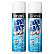 Andis - Cool Care Plus Spray For Clipper Blades - Disinfectant Cleaner 2 Pack