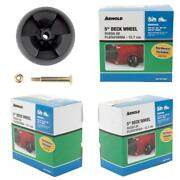 5 In. Universal Deck Wheel For Riding Lawn Mowers And Zero Turn Mowers With Har