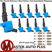 Performance Ignition Coil Engine And Spark Plug For 1997-2017 Ford E-150 4.6l V8