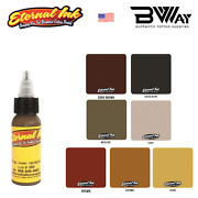 Eternal Tattoo Ink Brown Colors And Tones Individual Single Bottles 2 Oz 60 Ml