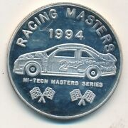1994 Racing Masters First Hi-tech Collectibles Edition Silver 1 Oz-ships Free
