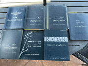 Lot Of 7 Vintage Air Navigation Af Manuals Book 52-8 Department Of The Air Force