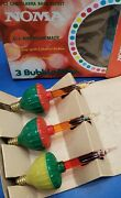 Vintage Noma Christmas Bubble Light C-7 Candelabra Replacement Bulbs Set Of 3
