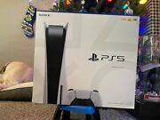 Sony Ps5 Blu-ray Edition Console - White - Sealed- Fast Shipping