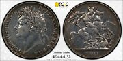 1821 Great Britain George Iv Silver Crown S-3805 Pcgs Xf Detail