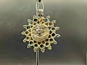 Old Ancient Antiquities Greco Bactrian Greek Silver Jewelry Necklace Pendant