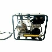 12v Dc Driven Diving Breathing Air Compressor Snorkelling With Hose+respirator