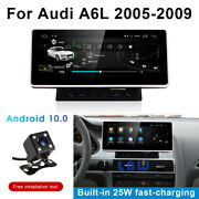 Android 10 Car Gps Navigation Dash Bt Wireless Carplay For Audi A6 A6l 2005-2009