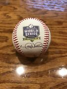 Gary Sheffield Autographed Baseball At The Little League Worlds Series 2015
