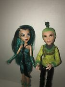 Monster High Doll Cleo De Nile And Deuce Gorgon Boo York City By Mattel Lot Of 2