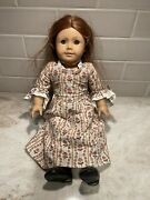 Pleasant Company American Girl Felicity Doll With Meet Dress Vintage Retired