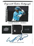 Wander Franco 2020 Upper Deck Goodwin Champions Exquisite Auto Patch Ed /99