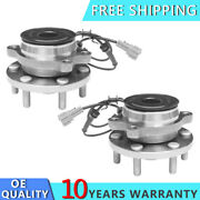 2pc Front Wheel Bearing And Hub Fits Nissan Pathfinder Frontier Xterra Equator 2wd