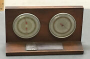 Anheuser-busch 25 Year Award-desk Thermometer/barometer Wholesale Distrib 1964