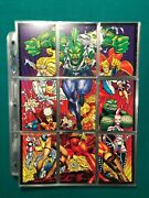 Erik Larsen's The Savage Dragon - Collectible Trading Cards - Complete 90 Cards