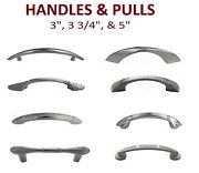 3 3.75 And 5 Cabinets Handle Pulls Kitchen Hardware Brushed Nickel Best Price